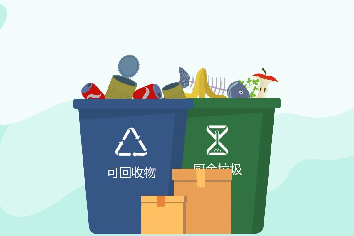 图解:《广东省城市生活垃圾分类指引(试行)》