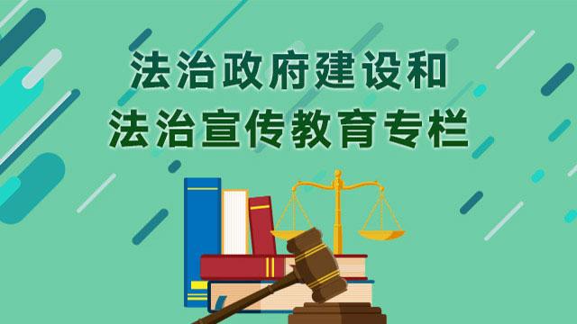 法治政府建设专栏图标链接